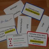 Karten aus Satz für Satz